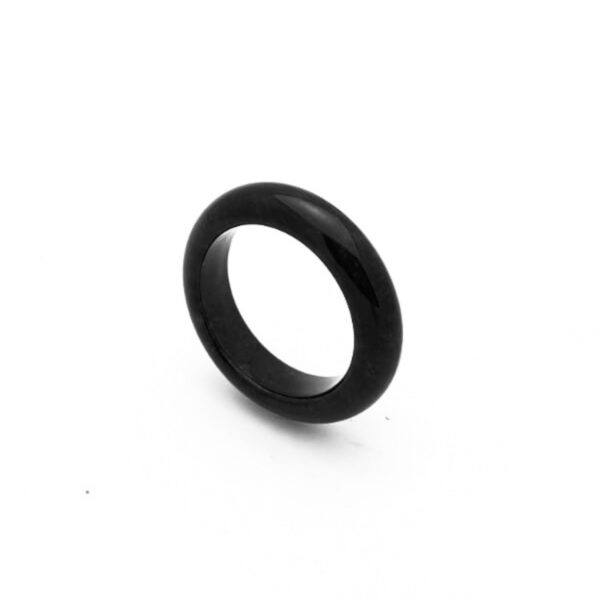 Black Jadeite Jade Ring